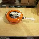 [中古]★モデルルーム展示品★【レミパン】 レミパン24cmオレンジ RHF-201