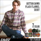 ネルシャツ メンズ 送料無料 チェックシャツ 長袖 ボタンダウン 大きいサイズ メンズ EAGLE …