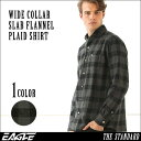 ネルシャツ メンズ 送料無料 チェックシャツ 長袖 ワイドカラー 大きいサイズ メンズ EAGLE THE STANDARD [ネルシャツ メンズ 厚手 チェックシャツ フランネルシャツ メンズ チェック フランネル シャツ 大きいサイズ ワイシャツ ワイドカラー XL XXL 2L LL] (日本規格)
