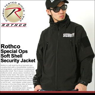 【送料無料】ROTHCO(ロスコ)ジャケットメンズ大きいサイズシェルジャケット[ロスコROTHCOジャケットメンズ冬ソフトシェルジャケットミリタリーシェルジャケット防寒アメカジブランド大きい黒ブラックXLXXLLL2L3L](USAモデル)