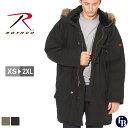 【送料無料】 ロスコ ROTHCO ロスコ N3B ロング フライトジャケット 大きいサイズ メンズ 送料無料 [ROTHCO ロスコ N-3B n3b n3-b メン..