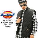ディッキーズ Dickies ディッキーズ ベスト メンズ 大きいサイズ メンズ [DICKIES ディッキーズ キルティング ベスト ナイロン ベスト 防寒 ...