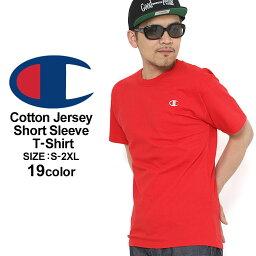 <strong>チャンピオン</strong> Tシャツ 半袖 無地 メンズ 大きいサイズ USAモデル ブランド 半袖Tシャツ ロゴ アメカジ Champion
