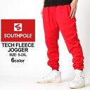 【送料299円】 SOUTHPOLE サウスポール ジョガーパンツ メンズ 大きいサイズ メンズ スウェットパンツ メンズ 細身 ストリートファッション 黒 ブラック グレー ネイビー XL XXL LL 2L 3L (USAモデル)