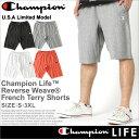 チャンピオン (champion) チャンピオン ハーフパンツ メンズ リバースウィーブ チャンピオン [80105] 【Champion チャンピオン ハーフパンツ メンズ スポーツ ショートパンツ スウェット 大きいサイズ メンズ ハーフパンツ アメカジ 夏 メンズ XL XXL LL 2L 3L】 (USAモデル)