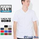 プロクラブ Tシャツ 半袖 Vネック コンフォート 無地 メンズ 大きいサイズ USAモデル ブランド PRO CLUB 半袖Tシャツ S M L LL