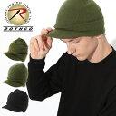 ショッピングニットキャップ ロスコ 帽子 ニット帽 つば付き メンズ レディース USAモデル 米軍|ブランド ROTHCO|ニットキャップ ビーニー ミリタリー