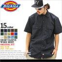 【BIGサイズ】 Dickies ディッキーズ ワークシャツ 半袖 メンズ 大きいサイズ ≪USAモデル≫ (1574) [ディッキーズ Dickies シャツ...