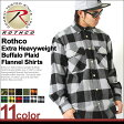 ROTHCO ロスコ ネルシャツ メンズ 大きいサイズ 厚手 [USAモデル] ロスコ (ROTHCO) ロスコ シャツ 長袖 フランネルシャツ メンズ ネルシャツ チェックシャツ カジュアルシャツ 厚手 迷彩 迷彩柄 チェック柄 camo 赤 ブラック イエロー 大きい XL LL 2L 3L