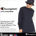 チャンピオン Champion チャンピオン Tシャツ メンズ 長袖 大きいサイズ ロンT 無地 [チャンピオン Champion ロンT メンズ 長袖 Tシャツ 無地 長袖Tシャツ アメカジ ストリート ブランド Champion usa 大きい XL XXL 2XL] (USAモデル) (t2229)