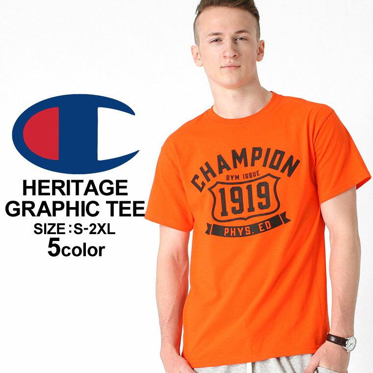 【送料299円】 チャンピオン Champion チャンピオン Tシャツ メンズ 半袖 ストリート [チャンピオン Champion Tシャツ メンズ 大きいサイズ メンズ tシャツ アメカジ tシャツ 半袖tシャツ tシャツ ロゴ XL XXL LL 2L 3L] (USAモデル) (gt81-y06321)