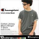 [チャンピオン] [Champion] tシャツ メンズ 半袖 ストリート (USAモデル) (T2232) 【Champion チャンピオン Tシャツ 半袖 無地 リンガーtシャツ Tシャツ 半袖 アメカジ Tシャツ 半袖Tシャツ 大きいサイズ XL XXL 2XL LL 2L 3L】