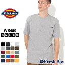 Dickies ディッキーズ tシャツ メンズ 半袖 ブランド ポケットtシャツ メンズ 6.75oz ヘビーウェイト tシャツ 無地 アメカジ tシャツ メンズ 大きいサイズ メンズ tシャツ S/M/L/LL/3L (USAモデル)