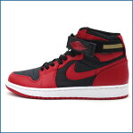 NIKE(ナイキ) AIR JORDAN 1 HIGH STRAP (スニーカー) BLACK/GYM RED-WHITE 342132-002 491-001708-301