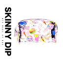 ショッピングコスメ ポーチ 化粧ポーチ コスメ 小物 MTV ロゴ skinnydip スキニーディップ ミニポーチ クラッチ レディース バッグインバッグ バッグ セール