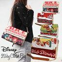 Disney ディズニー クラッチバッグ ショルダーバッグ 2WAY 不思議の国のアリス 白雪姫 ミッキー ポスターアート クラシック かばん