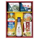 調味料セレクトギフト(GE-30)【日清 / キャノーラ油 / 油 / しょうゆ / 塩 / お茶漬け /