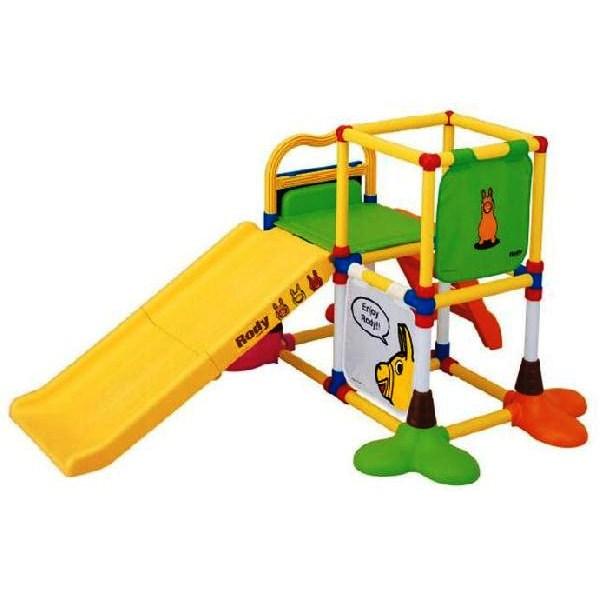 Rodyロディジャングルジム&すべり台3572ベビージム/キャラクター/ベビー玩具/おもちゃお誕生日