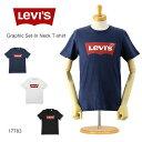 【SALE セール】■ LEVI'S (リーバイス 半袖Tシャツ)(17783-0139/17783-0140/17783-0137)グラフィック セットインネック Tシャツ (ロゴ/..