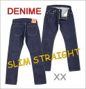 ■ DENIME(ドゥニーム スリムストレートジーンズ)「SLIM STRAIGHT XX Type JEANS」(ワンウォッシュ)(日本製)[5012-0075-OW]
