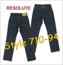 66 RESOLUTE () model JEANS [product made in Japan] 710-94 (one wash) [28 - 34inch] [710-4-94/710-6-94  free shipping!] [smtb-td] [Hayashi]