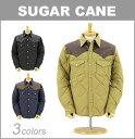 ■ SUGAR CANE(シュガーケーン)[SC13069]レザーヨーク ウエスタン ダウンジャケット (メンズ/おしゃれ/アウター/ジャケット/東洋エンタープライズ)