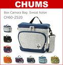 CHUMS(チャムス) カメラバッグ CH60-2520 ボックス カメラ バッグ (スウェット×ナイロン)(一眼レフ/デジカメ/ミラーレス/ビデオ/レンズ/おしゃれ/かわいい/メンズ/レディース/BAG)