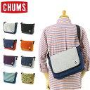 CHUMS (チャムス) ショルダーバッグ CH60-2462 フラップ ミニ ショルダー スウェットナイロン (メッセンジャーバッグ/ボディバッグ/通学 通勤/メンズ/レディース/おしゃれ/かわいい/BAG)