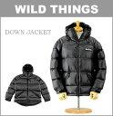 ■ WILD THINGS(ワイルドシングス ジャケット)[WT-DOWN-JK] ダウンジャケット (中綿/ダウン/アウトドア/ナイロンジャケット/おしゃれ/メンズ)