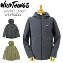 WILD THINGS ワイルドシングス フーデッド ジャケット [WT17003N] (メンズ マウンテンパーカー ナイロンジャケット おしゃれ アウトドア 登山 HOODED JACKET)