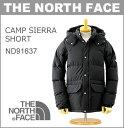 ■ THE NORTH FACE (ザ・ノースフェイス) ダウンジャケット (ND91637) キャンプ シェラ ショート 「CAMP SIERRA SHORT」(フード アウター アウトドア メンズ XL)【SALE セール】