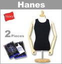 ■ HANES(ヘインズ 2枚パック 無地 タンクトップ) H373