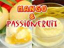 [送料無料]マンゴー&パッションフルーツアイス(1リットル)2個セット【アイスギフト】【smtb-TD】