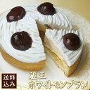 【送料無料】◇ホワイトデー◇ホワイト・モンブラン4号