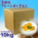 【業務用】フロム蔵王 プレーンヨーグルト(バッグ・イン・ボックス)10kg【送料込み】