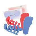 【フットケア】【ネイルケア】足指パット ストレッチパット (STRETCH PAD) - 足指を広げて心地よい刺激を感じられます。ペディキュアをするときにもお使いください。