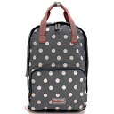 Cath Kidston キャスキッドソン リュック 105206015662102 Front Pocket Backpack 105206015662102 BUTTON SPOT TWILL GREY [並行輸入品]
