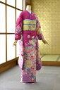 MO濃きピンク乱菊《身長》161cm〜176cm位(160)(170)(7号〜9号)(9号〜11号)(11号〜13号)(ピンク)