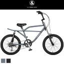 【送料無料】a.n.design-works サスペンションBMX Baboon 20インチ 自転車 バブーン