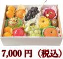 旬の果物箱盛り合わせ 7000円【送料無料】(ギフト/御中元...