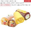 フルーツロールケーキ ショコラ マンゴー オレンジM 4種か...