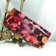 【FRUTTI DI BOSCO】きらめくベリーのアートレザーの長財布 ALBA marmella(アルバ マルメラ) 財布 レディース ピンク エナメル フルッティ ディ ボスコ