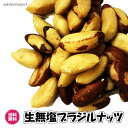 (生無塩ブラジルナッツ160g/80g×2パック)ブラジル産無塩・無添加 ナッツ全国送料無料 生ナッツ