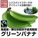 【送料無料】グリーンバナナ 11kg大箱(バナナ 11kg)レジスタントスターチ ダイエット フェアトレード 無農薬 グリンバナナ 青バナナ 緑のバナナ バナナ