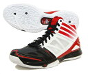 "[40% off] Adidas adidas basketball shoes ""adiZero Bash 3/ black X red"" G48005"