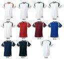 楽天SportsShopファーストステーションSSKベースボールシャツ「2ボタンプレゲームシャツ」BW2200【5着以上マーク入れ可】