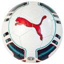 プーマPUMAサッカーボール「エヴォパワー トーナメント J/5号球/ホワイト×プール グリーン」082436-01