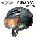 16/17 CP(シーピー)スキー、ウィンタースポーツ用ゴーグル付ヘルメット「CP CURAKO(クラコ)」BCL(CPC1714)
