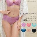 (サラコレクション)Sarah collection ピンクレーベル プラスアップ 深履きショーツ / セットショーツ ランジェリー ショーツ単品 FT0236