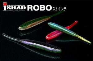 ジャッカル アイシャッド3.8インチROBO (i shad 3.8 ROBO) ゴビーブルーフレーク 3.8インチ